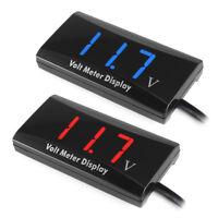 EG_ HK- 12V Digital LED Display Voltmeter Voltage Gauge Panel Meter Car Motorcyc