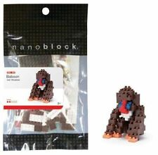 Baboon Nanoblock Miniature Building Blocks New Sealed Pk NBC0 004