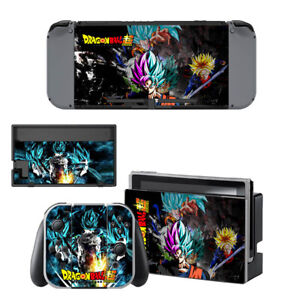 Dragon Ball Super Vinyl Skin Sticker for Nintendo Switch with Screen Protector