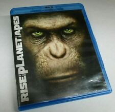 Rise of the Planet of the Apes Blu-ray + Dvd + Digital rare Sci Fi Fantasy Movie