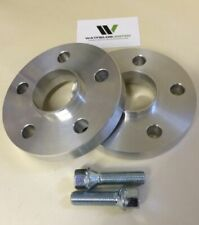 Audi A7 Wheel Spacers 5x112 Hubcentric Spacers 15mm 66.5CB 10 Radius Bolts UK