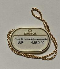Hangtag 232.30.42.21.01.003 Steel 42mm Oem Omega Planet Ocean 600M Co-Axial Tag