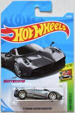 Hot Wheels 2018 Hw Exotics '17 Pagani Huayra Roadster # 2/10 Grey