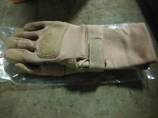 ANSELL TAN COMBAT EXT. CUFF GLOVES 46-409 104617 276265 SIZE S ~ NEW
