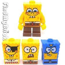 M831 Lego SpongeBob SquarePants Minifig & 3 Extra Faces 3834 4981 3815 3817 NEW