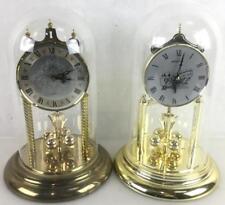(2) Anniversary Clocks W/ Junghans & Seth Thomas Lot 3350