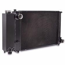 40MM BLACK ALLOY RADIATOR RAD FOR BMW 3 5 SERIES E30 E36 E34 318i 320i 325i