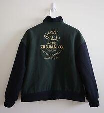 Avedis Zildjian Co Genuine Turkish Cymbals Varsity Snap Wool Jacket MEDIUM