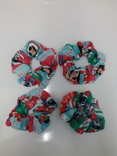 Lilo and Stitch Christmas scrunchies