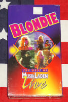 Blondie Live 1978 Musikladen (VHS, 1999) New & Sealed Rare