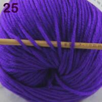 AIP 1 Skein x50gr Cashmere Silk Wool Children Hand Knit Shawls Crochet Yarn 25