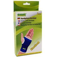 Care4you Handgelenk Bandage Schoner elastisch Universal blau