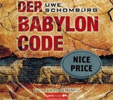 HÖRBUCH-CD-BOX NEU/OVP - Der Babylon Code von Uwe Schomburg - 6 CDs