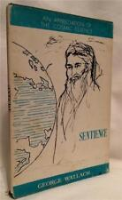 1969 SENTIENCE COSMIC ESSENCE GEORGE WALLACE OCCULT REALITY MYSTIC AWARENESS