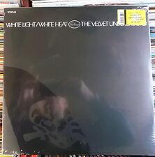THE VELVET UNDERGROUND LP: WHITE LIGHT/WHITE HEAT (2008, NEU; 180 GRAM; BONUS)