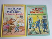 Wind in the Willows Hardcover 1990s Children's Book Vintage Lot