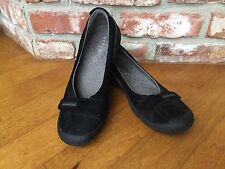 PRIVO By Clarks ~ Womens Black Slip On Shoes ~ SIZE 9 M
