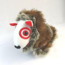 "Target Bullseye 2008 Alaska Fur Coat Winter 7"" Plush Bull Terrier"