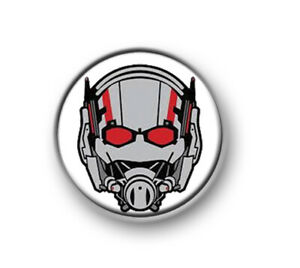 """ANT-MAN 1"""" / 25mm / pin button / badge / film / movie / Marvel / Avengers / Wasp"""