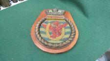 More details for ww 2 royal canadian navy aircraft carrier hmcs bonaventure bronze ships plaque
