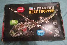 1969 Monogram Phantom Huey Chopper 1/24 Scale Model Kit-Pa226