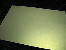 20 x sheets A4 Double Sided Antique Gold Pearl / Pearlescent Paper -130gsm