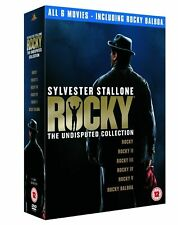 Rocky 1- 6 The Undisputed Collection DVD GOOD 6 movies,6 disc Sylvester Stallone