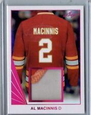 Al MacInnis 2018 Leaf Game Used Patch Card