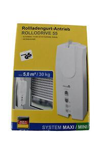 Schellenberg Rollodrive 55 elektrische Gurtwickler Rollladenantrieb 22755