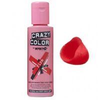 Crazy Color Colour Hair Dye Semi-Permanant 100ml FIRE