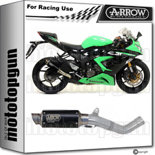 ARROW KIT EXHAUST RACE GP2 STEEL BLACK KAWASAKI ZX-6R 636 2013 13 2014 14