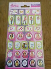 Gorgeous Barbie Glitter Stickers For Card Making, Scrapbooking and Much More