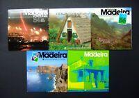 Portugal Madeira Jahresmappen 1984-1988 postfrisch MNH (Q317