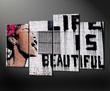 GRAFFITI BEAUTIFUL CANVAS WALL ART PICTURES PRINTS LARGER SIZES AVAILABLE