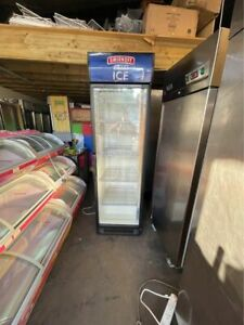 Husky Commercial Single Door Upright Glass Door Drink Fridge / Chiller - GOOD CO
