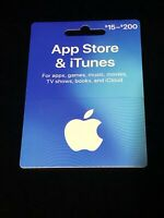 Apple iTunes card NO VALUE rechargeable