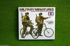 Tamiya WWII BRITISH PARATROOPS & BICYCLES SET 1/35 Scale Kit  35333