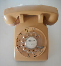 Vtg Bell Western Electric Rotary Dial BeigeTelephone Model 500 Dated 3/59 Works