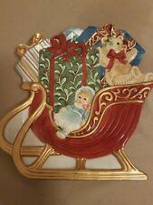 Fritz And Floyd Teddys Christmas Canape Plate