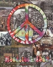 Woodstock ~ Crowd Collage 16x20 Music Poster Peace White Lake Ny