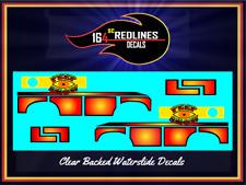 1/64 'Baja Breaker RED Peep Show I' CUSTOM Decal SCR-0503