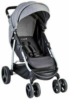 Cuggl Beech Pushchair - Black & Silver-GBL131.