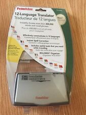 NEW OPEN BOX FRANKLIN TG-450 12 Language Translator