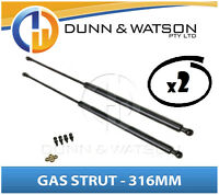 Gas Strut 316mm-200n x2 (6mm Shaft) Caravans, Camper Trailers, Canopy, Toolboxes