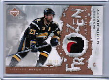 07/08 UD ARTIFACTS CHRIS DRURY FA-CD FROZEN SABRES PATCH 06/50 NEW YORK RANGERS