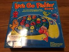 Let's Go Fishing Game Child's Toddler Toy GUC Pressman Almost Complete