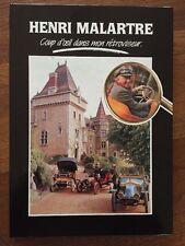 Book Livre Henri Malartre Car Vintage Coup d'Oeil dans mon retroviseur