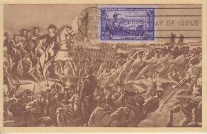 MAXI CARD X2: 1003 BATTLE BROOKLYN MAXIMART & 1363 CHRISTMAS 1968 COLORANO ULKTR