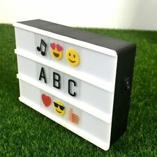 Mini Home Cinematic A6 Size Square Cinema Lightbox Letter light box