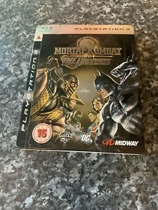 Mortal Kombat vs DC Universe PlayStation 3 /PS3 / Steelbook / PAL Complete